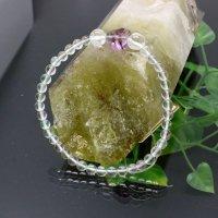 フローライトハート水晶