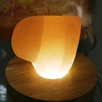 ハート型岩塩70mm 美容品