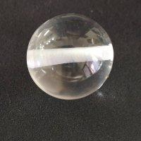 ヒマラヤ水晶ビーズ 1粒入り 13~13.5mm