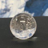 ヒマラヤ水晶丸玉 直径 約20mm  小さく持ち運び安い お守り