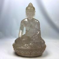 ヒマラヤ水晶仏像 (天然石彫刻仏陀)