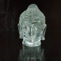 ヒマラヤ水晶仏陀ヘッド 小