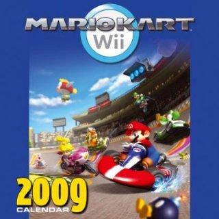 2009年 輸入 マリオカートWii  カレンダー