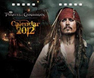 2012年 卓上 パイレーツ・オブ・カリビアン/生命の泉 カレンダー