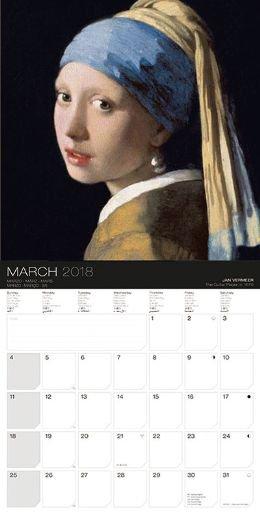 輸入 フェルメール 2019年 カレンダー