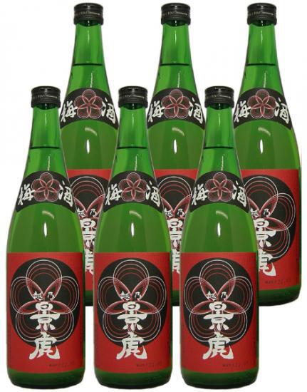 (入荷いたしました!)越乃景虎 梅酒 720ml 6本入り 送料無料
