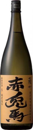 (11月下旬頃入荷・予約商品)芋焼酎 薩州 赤兎馬 甕貯蔵芋麹 (限定品) 1800ml