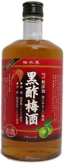中埜 黒酢梅酒 720ml