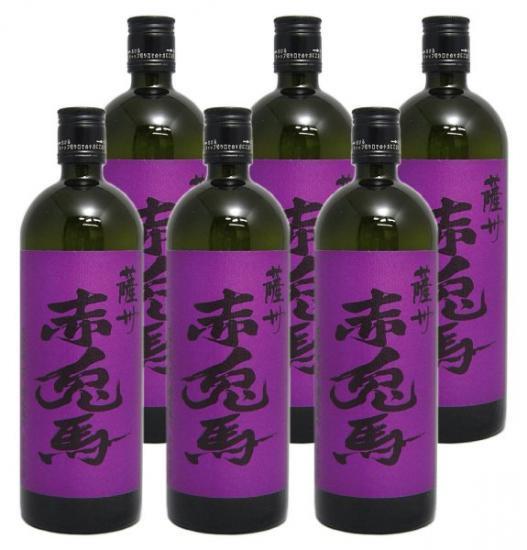 (入荷いたしました!)芋焼酎 薩州 紫の赤兎馬 (限定品) 720ml 6本入り 送料無料