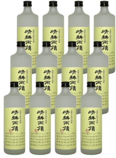芋焼酎 晴耕雨読 720ml 12本入り 送料無料