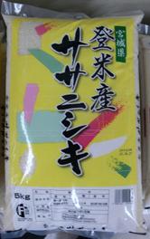 【配達】宮城県登米産ササニシキ 5kg