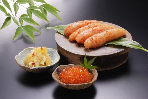 魚卵三種セットA(明太子・ハリハリ数の子・いくら)