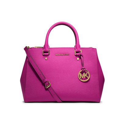MICHAEL KORS/マイケルコース SUTTON MEDIUM SATCHEL FUSCHIA