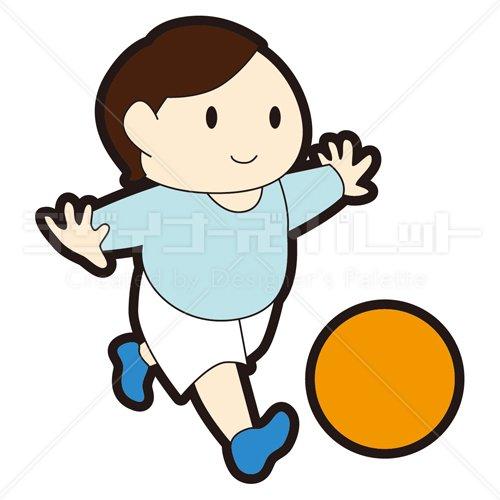 ボール遊び - イラパレ|ロイヤリティフリーのストックイラスト