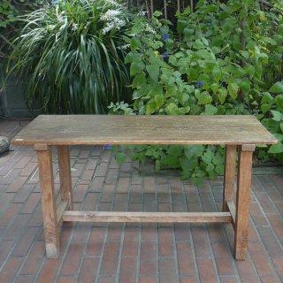 古い木製の小机