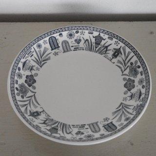 デッドストックのプリント絵皿