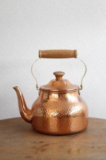 銅製のやかん