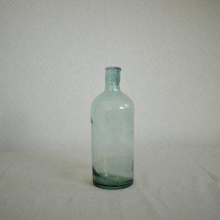 青いガラス瓶(18.8cm)