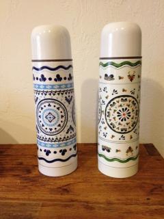 タラベラ魔法瓶(500ml) アズレージョ(左)