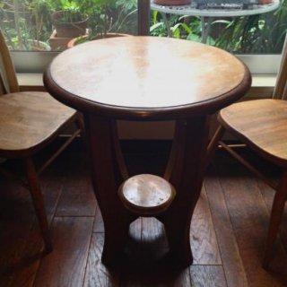 レトロな木製コーヒーテーブル