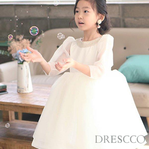 ミネルバふんわり七分袖ドレス
