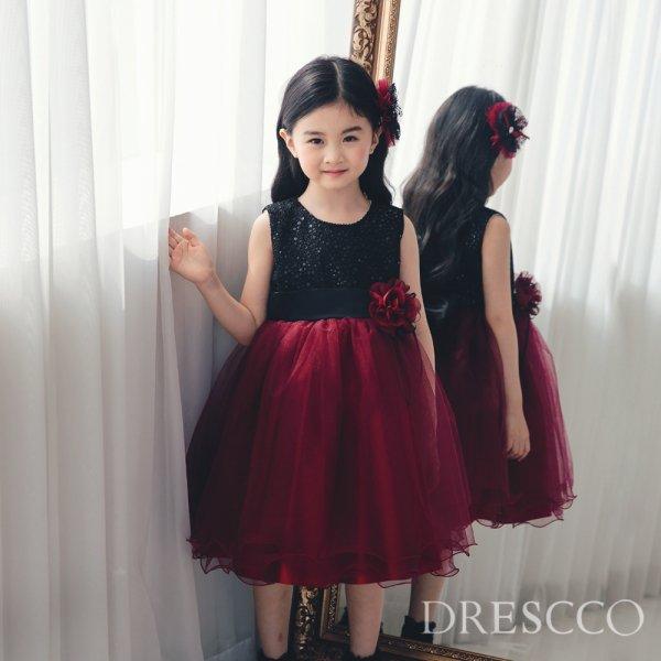 New)ブラックアンドレッドドレス