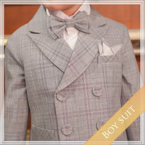 グレースウィートスーツ5点セット (ジャケット+ベスト+長ズボン+タイ+ハンカチーフ)