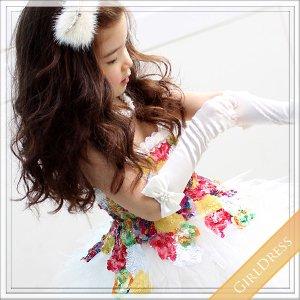 カラースパンコールミニトップドレス