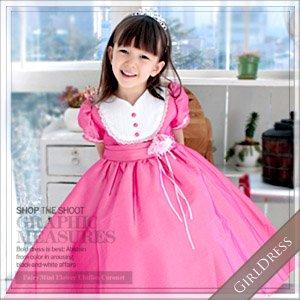 ロザリンチェリーピンクドレス