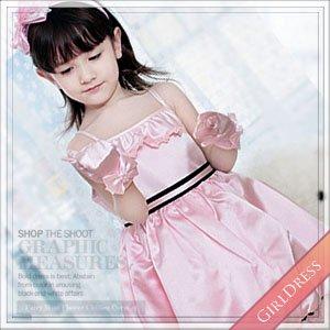 ピンクバルーンドレス