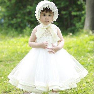 セレナツートーンパールベビードレス