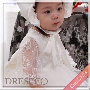 ホワイトフェアリースリーブドレス