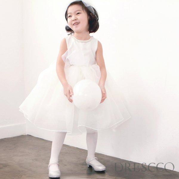 ミダースビジューネックレスホワイトドレス