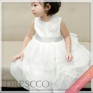 アテナティアードスカートホワイトドレス