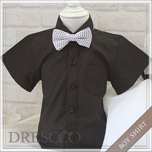 標準半袖ワイシャツブラック
