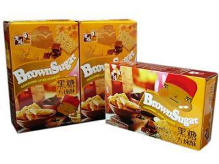 黒糖方塊酥「ゴマの香ばしさと黒砂糖の風味」