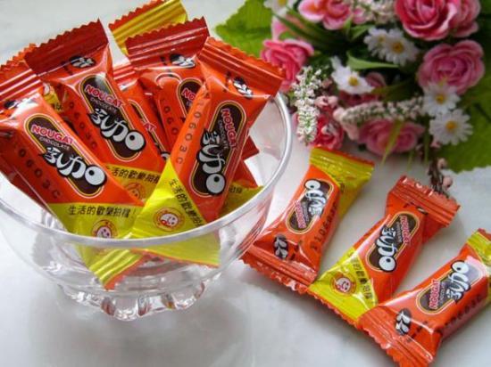 77乳加巧克力(1包12個入)「ヌガーチョコレート」お試し用