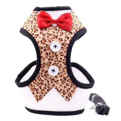 【ペットコスプレ】小型犬リーシュ付き胸バック 4色