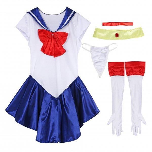 セーラー服 美少女戦士セーラームーン風 コスチューム