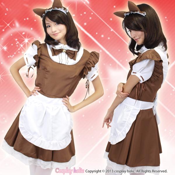 エイプリル風猫耳メイド服