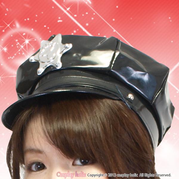 カッコイイ☆ポリス帽子