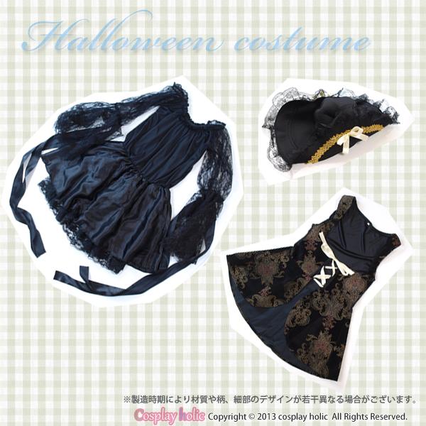 ハロウィンコスプレ衣装 仮装   ブラックパイレーツ