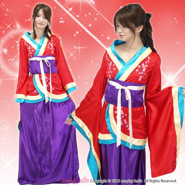 和服 コスプレ 衣装 激安 梅の花柄