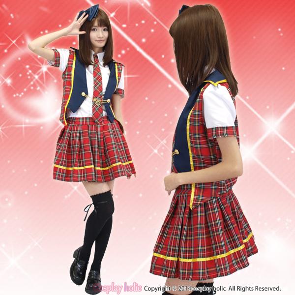 AKB風♪言い訳MayBe風アイドル コスプレ衣装