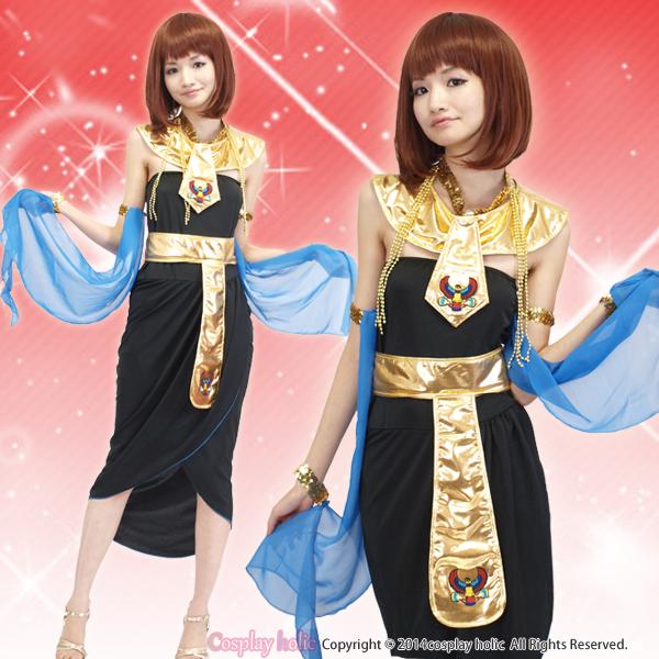 ハロウィンコスプレ 仮装  黄金クレオパトラアラブ衣装 通販