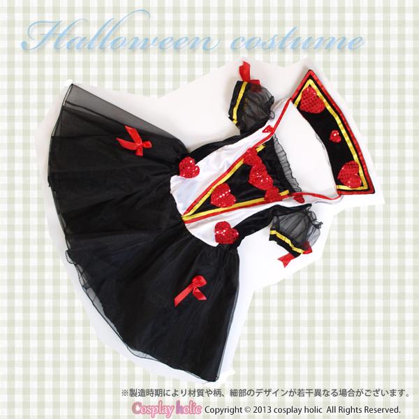 ハートの女王様コスチュームコスプレ衣装