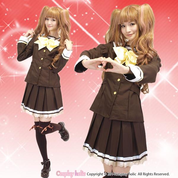 【ブレザー制服コスプレ】アニメ系のシャッフルコスプレ衣装
