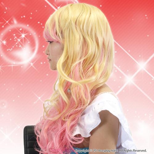 イエロー×ピンクがキュート☆外国ロリータ風ウィッグ