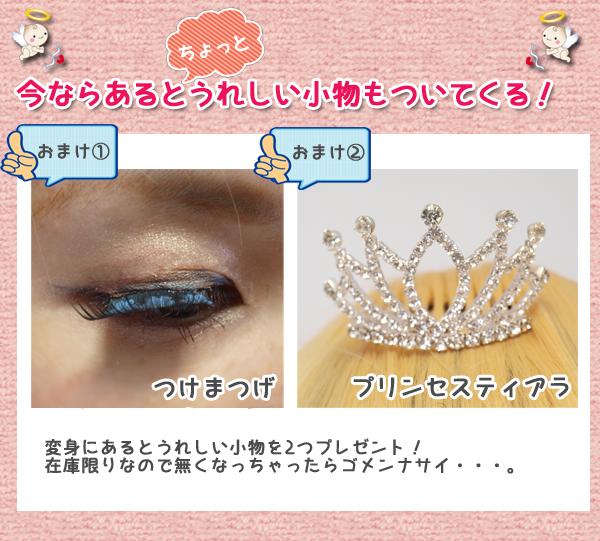 プリンセス★シンデレラの豪華絢爛ドレスコスプレ