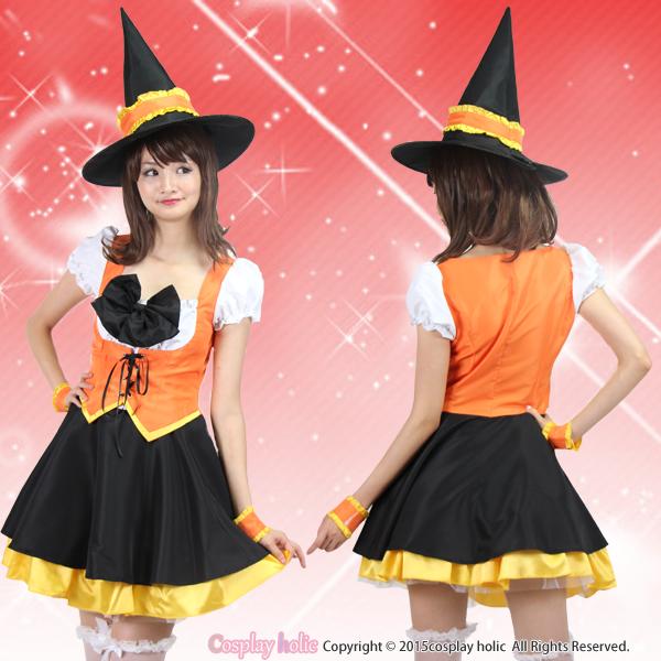 ハロウィンコスプレ 仮装  POPドレス魔女衣装